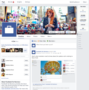 Facebook Pages is getting a new look